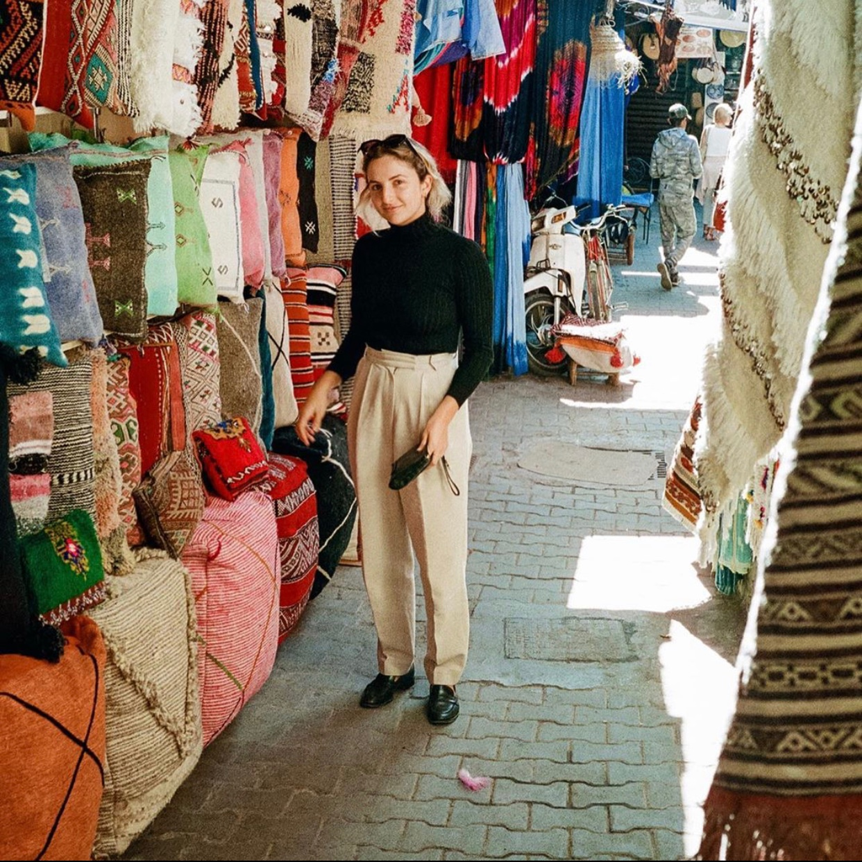 Shayna Goldberg's Work Trip To Marrakech
