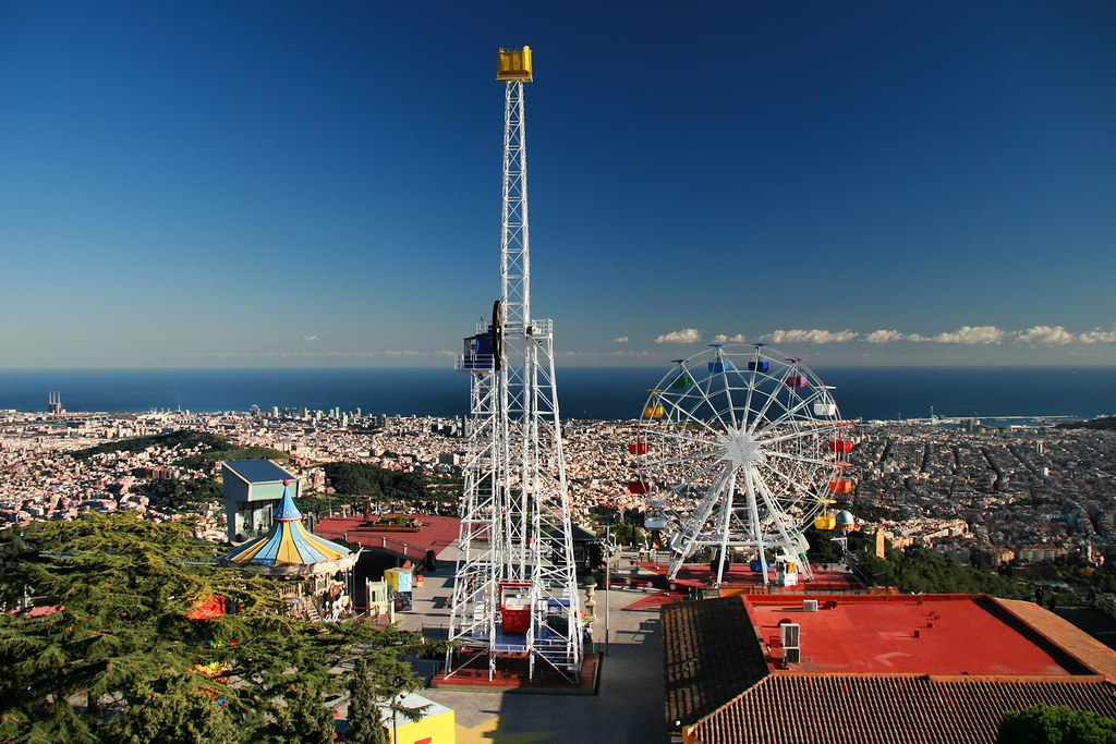 Mount Tibidabo in Barcelona - A Trip to the Mountains