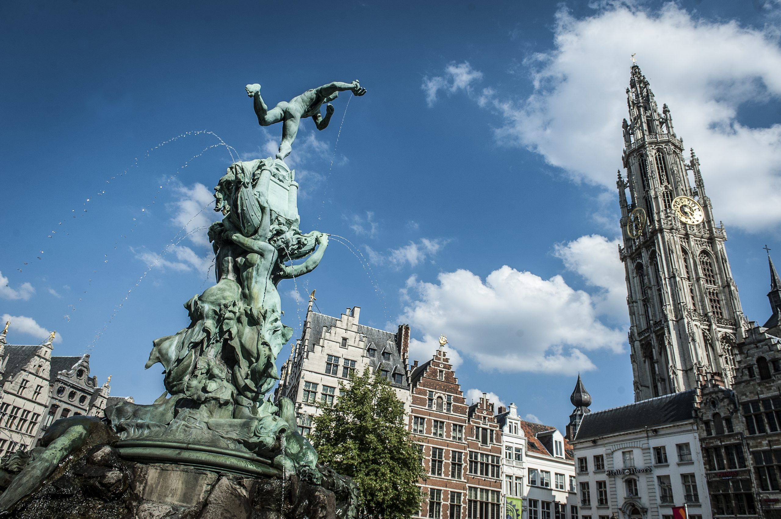 On a World Trip in Antwerp, Belgium