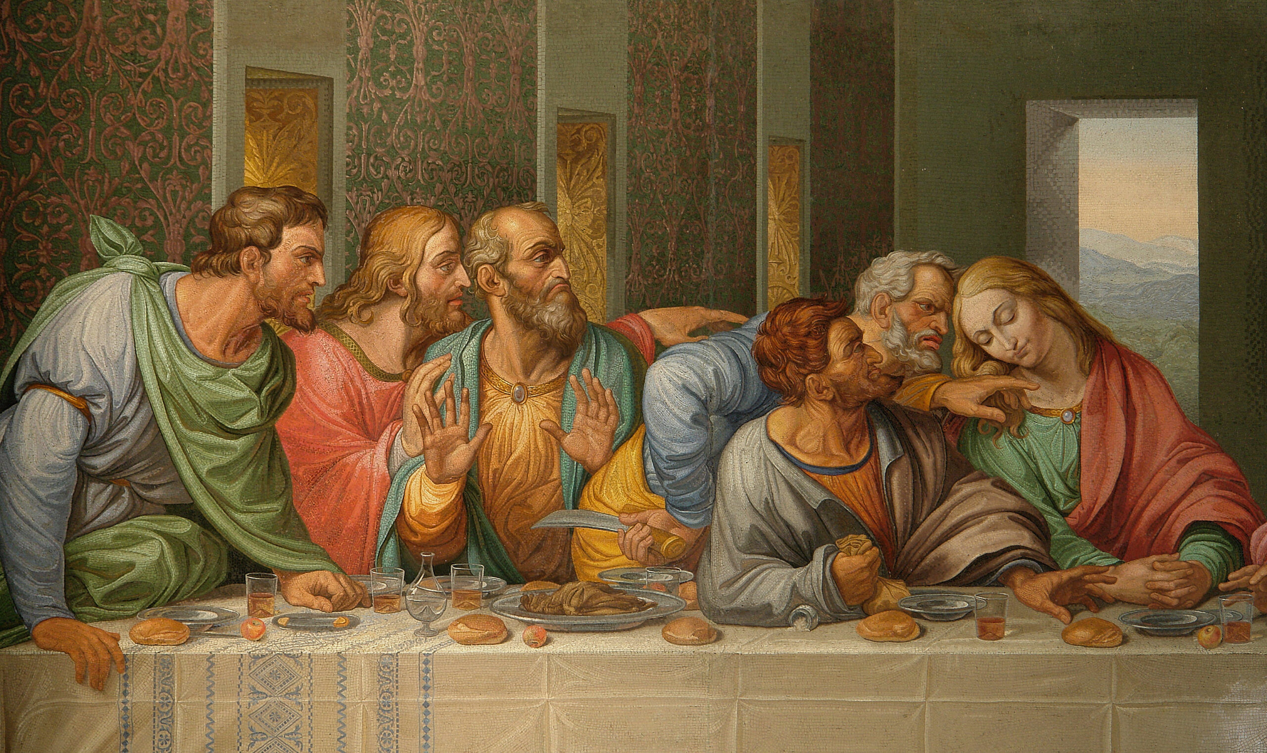 Discover the Mysteries Hidden in the Painting of the Last Supper by Da Vinci